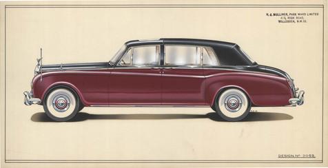 5 - H.J. Mulliner, Park Ward Rolls-Royce