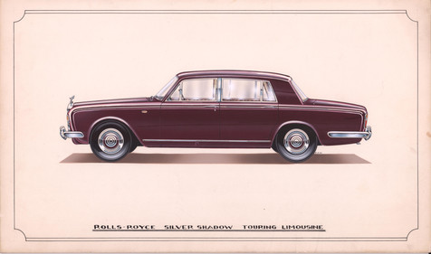 45 - Rolls-Royce Silver Shadow Touring Limousine