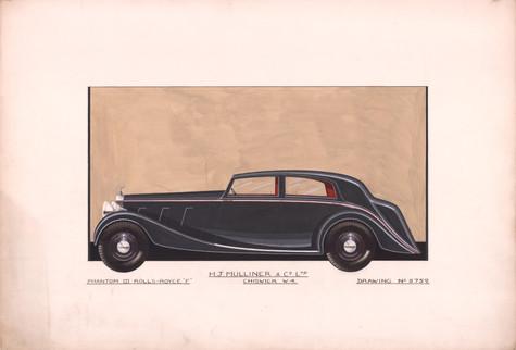 50 - H.J. Mulliner Rolls-Royce Phantom III