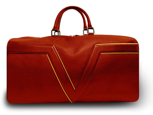 Red - Travel Bag VLx - Yellow Outlines