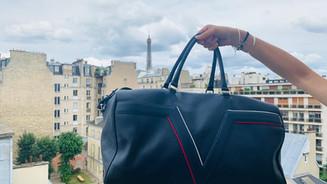 Sac de voyage en cuir Paris
