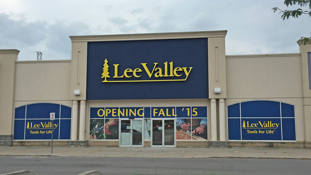 Lee Valley stucco