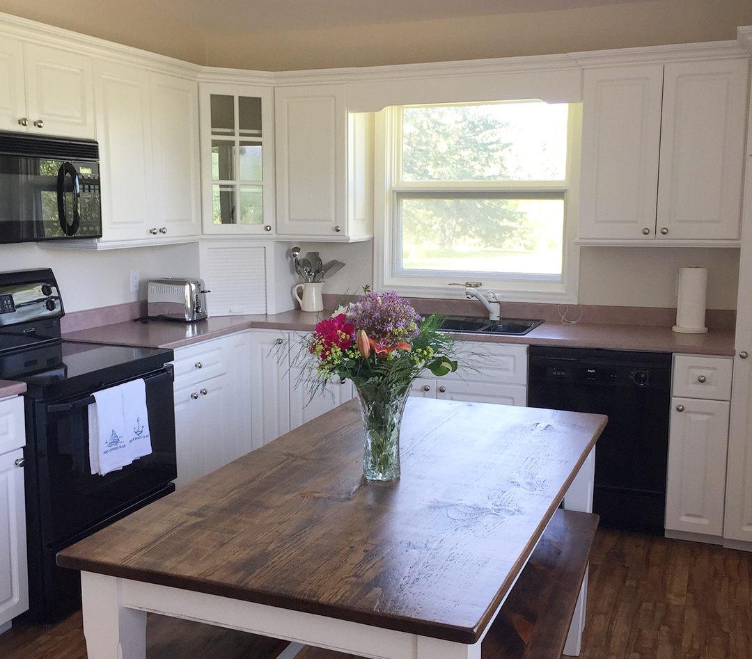 Blueberry Hill kitchen
