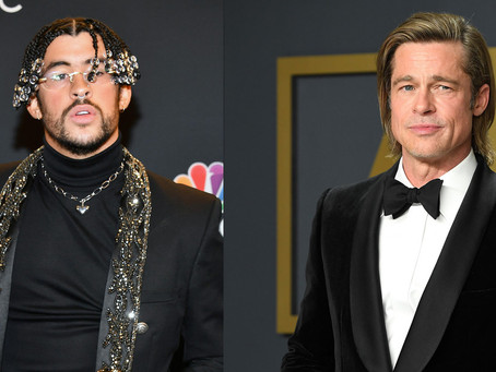 Brad Pitt y Bad Bunny estarán juntos en la película 'Bullet Train'
