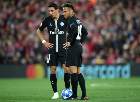 Neymar y Di María dan positivo en COVID-19
