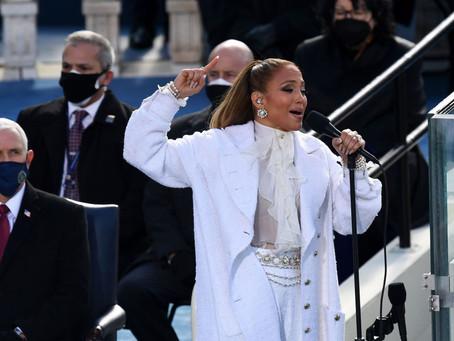 El mensaje en español que Jennifer Lopez dedicó a Donald Trump en la toma de posesión de Biden