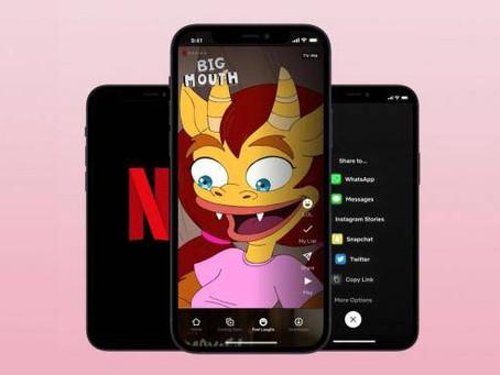 Netflix crea su propio TikTok: videos cortos de sus comedias más destacadas
