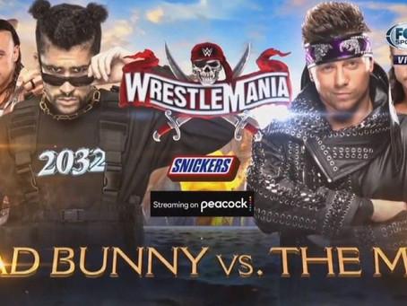 Bad Bunny debutará en abril como luchador en WrestleMania