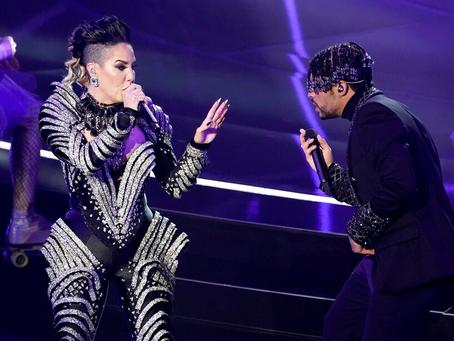 """Ivy Queen y Bad Bunny sorprendieron al interpretar """"Yo perreo sola"""" en los Billboard 2020"""