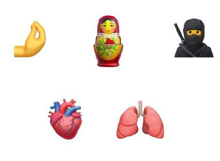 Los 117 nuevos emojis que llegarán a los smartphones este año