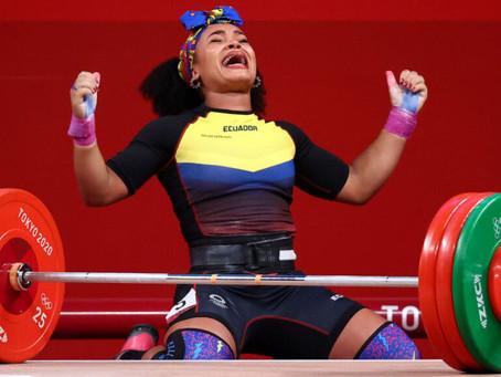 ¡Oro olímpico y eterna gloria para Neisi Dajomes! Victoria en los 76 kg de la halterofilia de Tokio