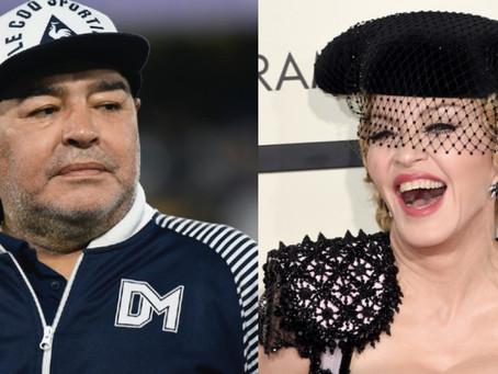 Confunden a Madonna con Maradona y se vuelve tendencia en las redes; creyeron que había muerto