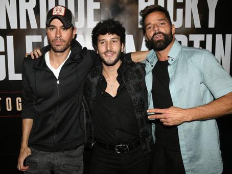 Sebastián Yatra saldrá de gira musical junto a Ricky Martin y Enrique Iglesias