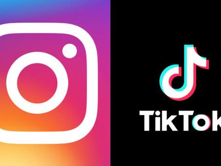 Instagram evitará promover Reels sacados de TikTok