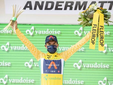 Richard Carapaz se corona campeón del Tour de Suiza