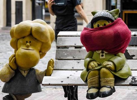 Mafalda enseña hábitos para prevenir el COVID-19