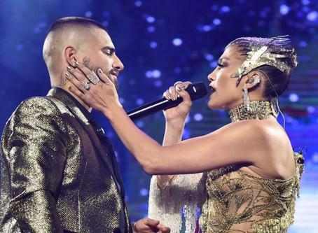 Jennifer López y Maluma anuncian su primera colaboración musical