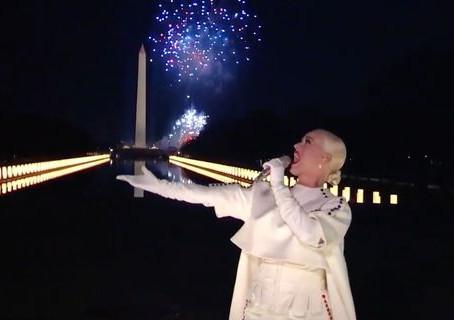 La impresionante actuación de Katy Perry en la investidura de Joe Biden
