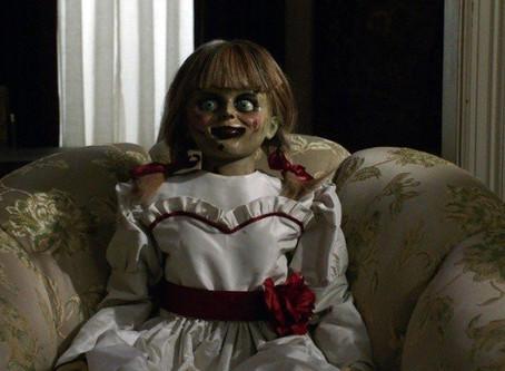 Annabelle, la muñeca de la película de terror, desapareció de vitrina