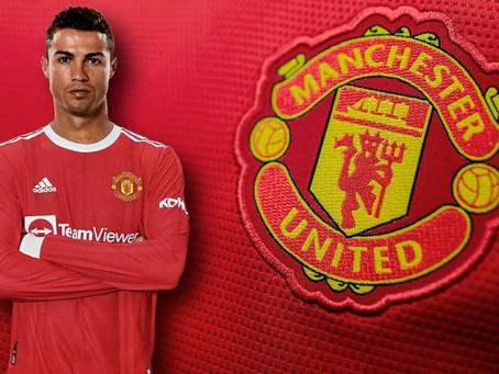 ¡Oficial! Cristiano Ronaldo regresa al Manchester United
