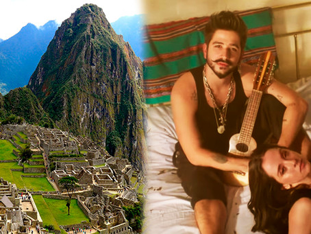 Machu Picchu la canción de Camilo y Evaluna que ha sido criticada en Perú