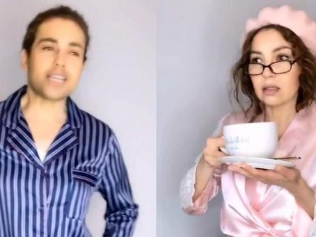 """La divertida parodia que Thalía hizo de """"La Casa de Papel"""" en Tik Tok"""