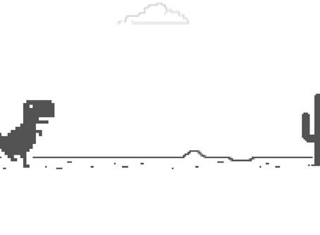 Juego de dinosaurio de Google sí tiene final