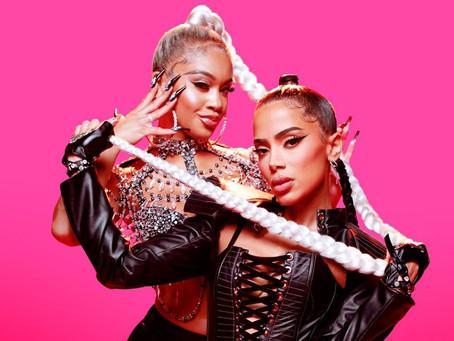 La brasileña Anitta estrena 'Faking Love' junto con la rapera estadounidense Saweetie