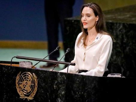 El poderoso mensaje de Angelina Jolie para prevenir la violencia contra las mujeres