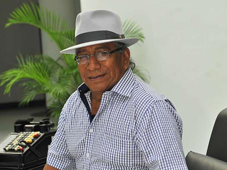 El cantante otavaleño Jesús Fichamba fue internado por covid-19 en Guayaquil