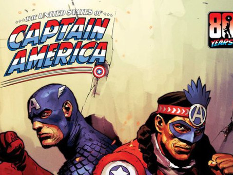 Marvel presenta su primer Capitán América Indígena