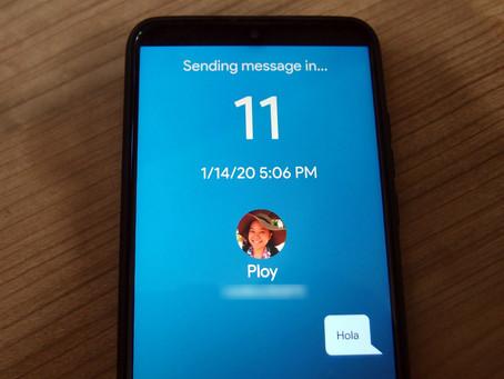 Una aplicación permite programar mensajes para Navidad u otras celebraciones en WhatsApp