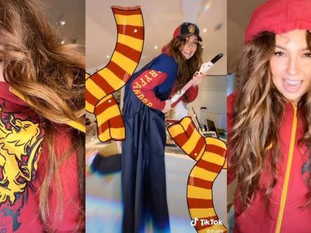 Thalía se declaró fan de Harry Potter en TikTok