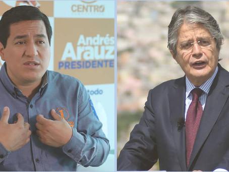Andrés Arauz y Guillermo Lazo a segunda vuelta según resultados oficiales del CNE