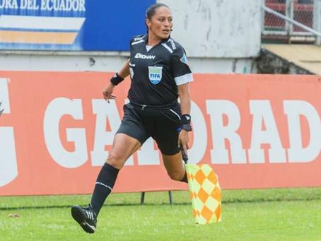Mónica Amboya será la primera árbitra ecuatoriana en impartir justicia en los Juegos Olímpicos