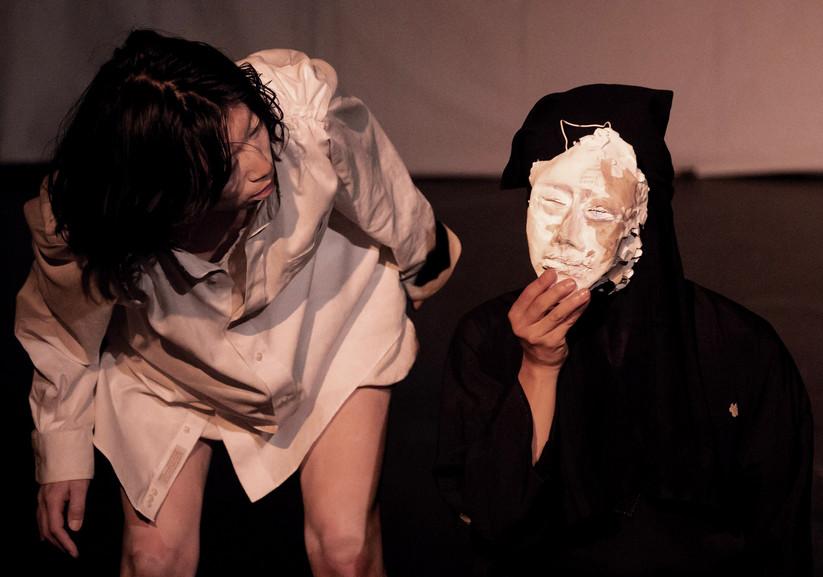 "Nao and Yoriko ""Mask"" scene"