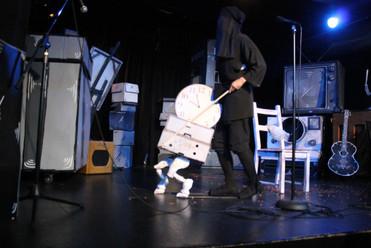 Yoriko and Clock Puppet