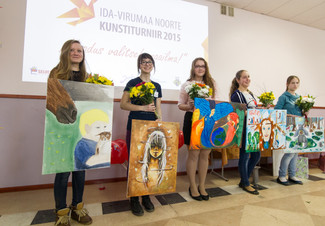 Ida-Virumaa noorte kunstiturniiri 2015 võitjad on selgunud!
