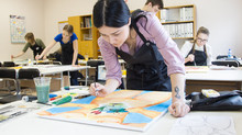Ida-Virumaa noorte kunstiturniir 2016 on seljataga!