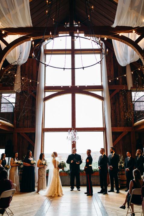 Rustic-military wedding in Preston, Missouri