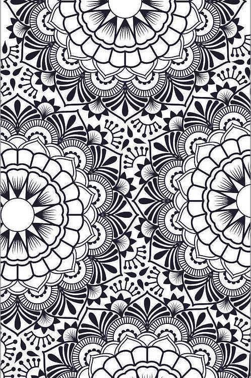 Texture Mat - Mandala Full