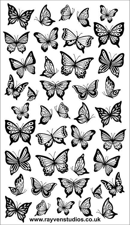 Texture Mat - Butterflies