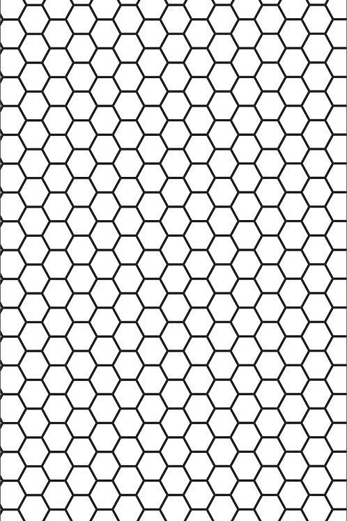 Texture Mat - Honeycomb 5mm