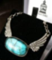 Custom made Labradorite pendant
