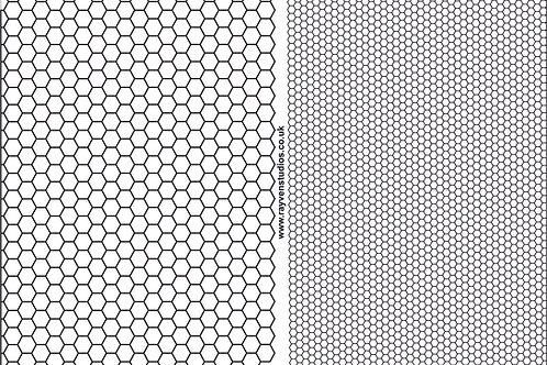 Texture Mat - Honeycomb Large