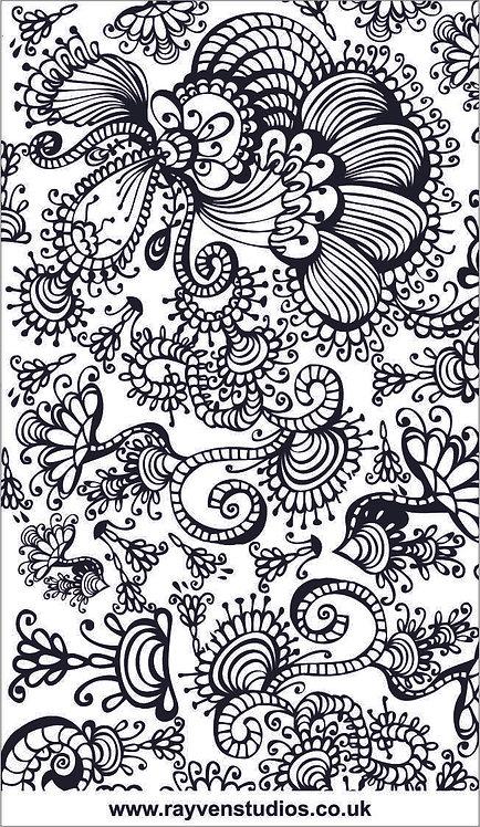 Texture Mat - Floral