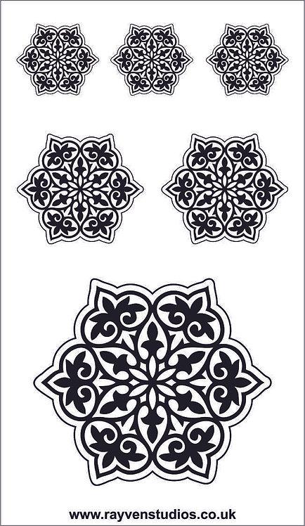 Texture Mat - Mandala Set