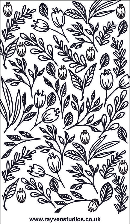 Texture Mat - Flowers