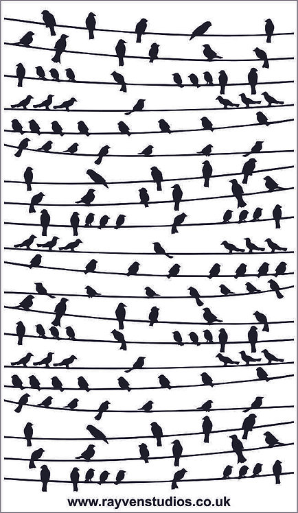 Texture Mat - Birds