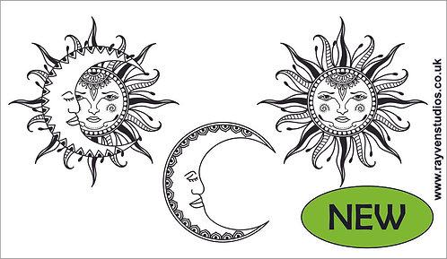 Texture Mat - Sun & Moon